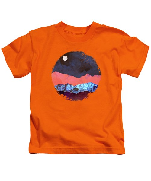Evening Moon Kids T-Shirt