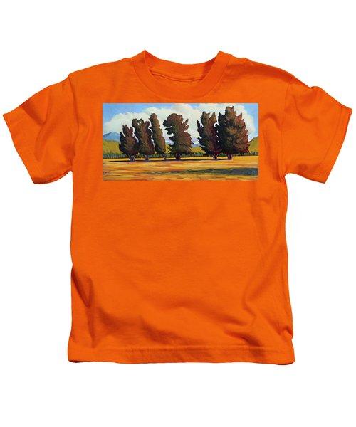 Fairfield Tree Row Kids T-Shirt