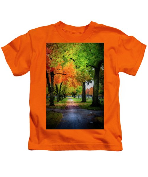 Fall Color Kids T-Shirt