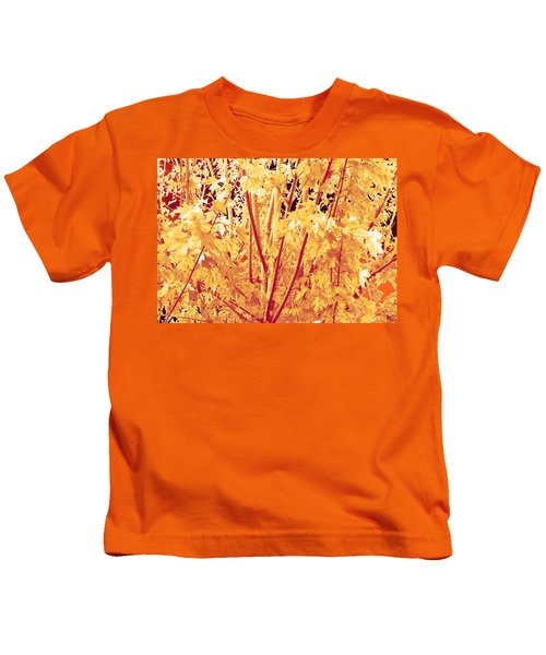 Fall Leaves #1 Kids T-Shirt