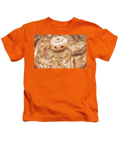 Fall Of Halloween Kids T-Shirt