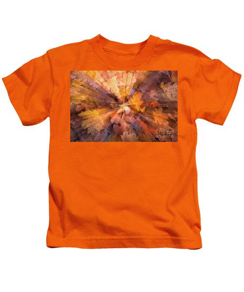 Fall Pizzaz Utah Adventure Landscape Photography By Kaylyn Franks Kids T-Shirt
