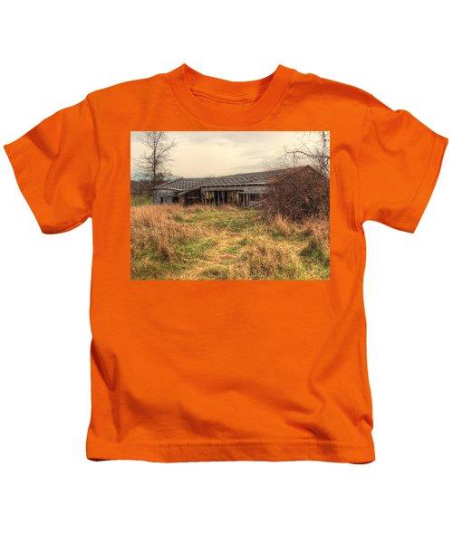 Falling Down Kids T-Shirt