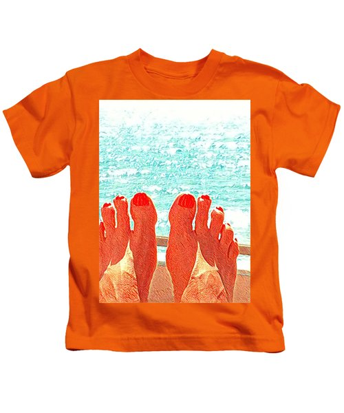 Feets Don't Fail Me Now Kids T-Shirt