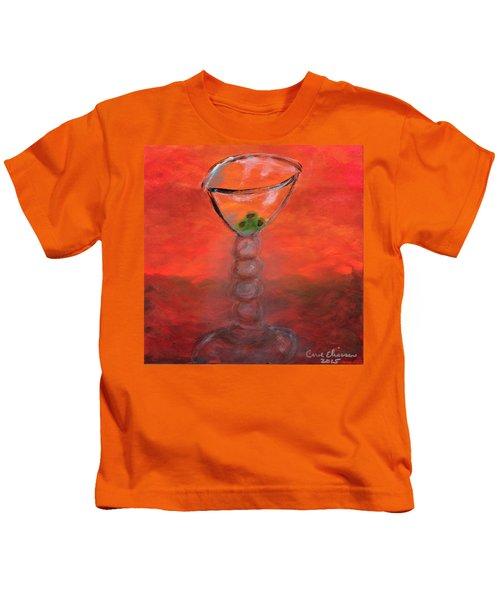 Fiery Martini Kids T-Shirt