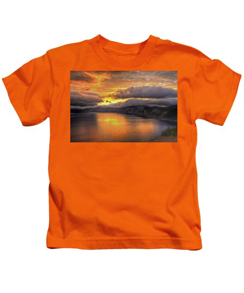 Fire In The Lake #1 Kids T-Shirt