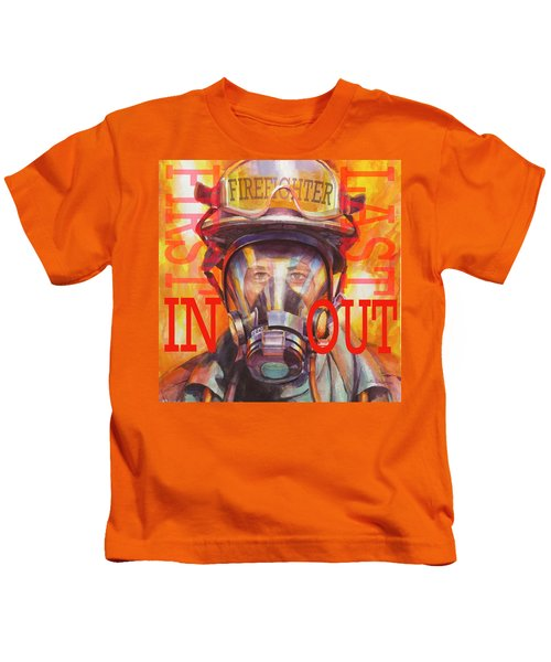 Firefighter Kids T-Shirt