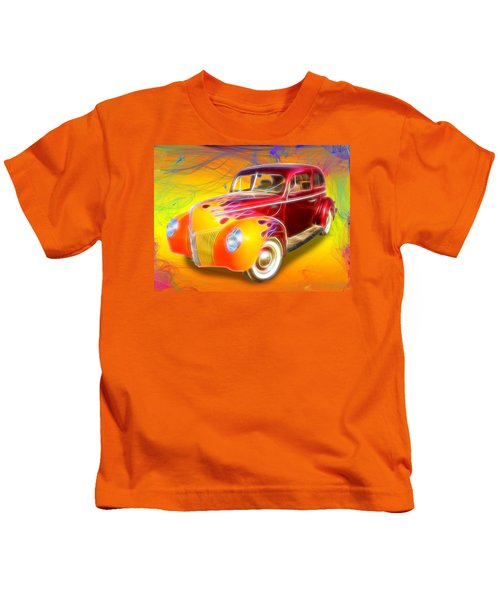 Flamin' '40 Kids T-Shirt