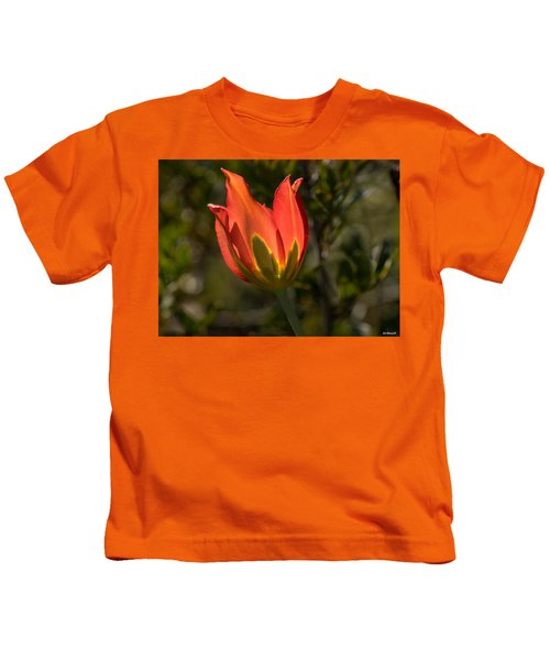 Flaming Beauyy Kids T-Shirt