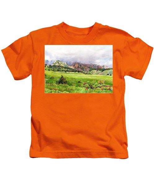 Flatirons Vista Kids T-Shirt
