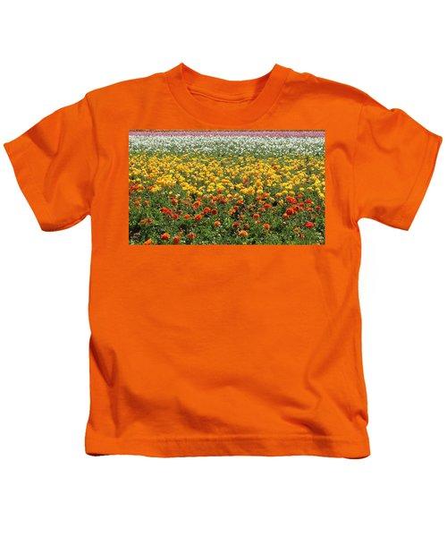 Flower Blanket From Carlsbad Kids T-Shirt