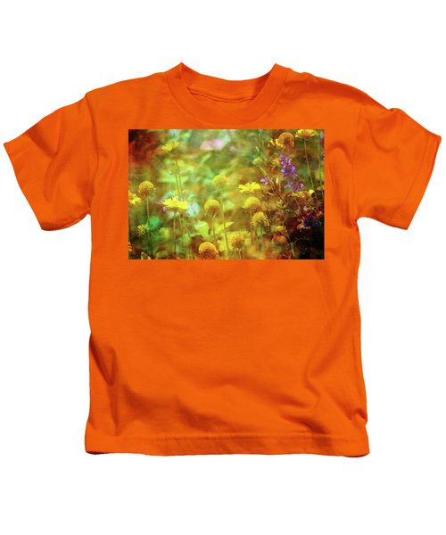 Flower Garden 1310 Idp_2 Kids T-Shirt