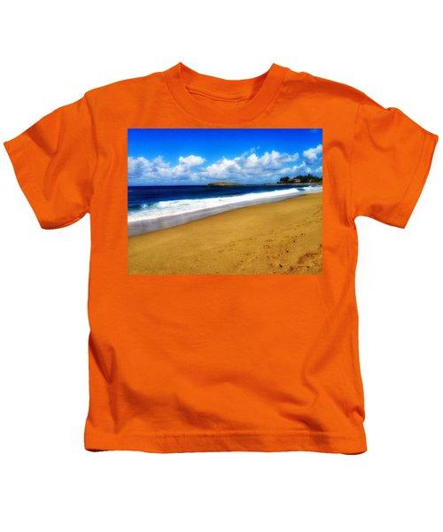 Foot Prints  Kids T-Shirt
