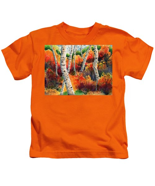 Forest In Color Kids T-Shirt