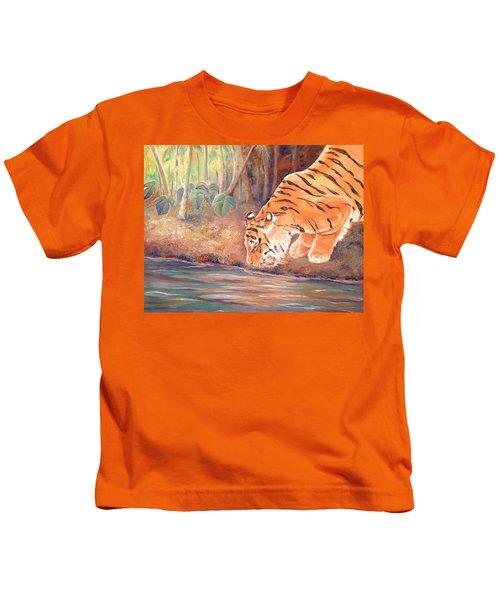 Forest Tiger Kids T-Shirt