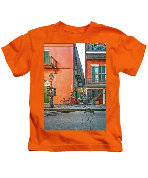 French Quarter Trio Kids T-Shirt