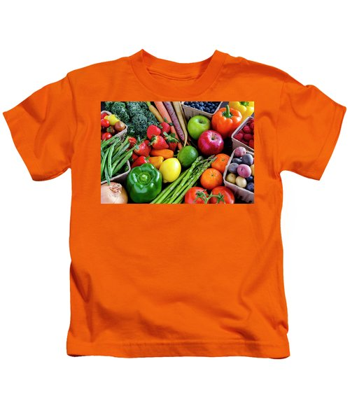 Fresh From The Farm Kids T-Shirt