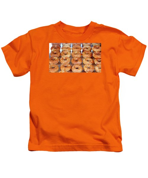 Fresh Frosted Doughnuts On Sale Kids T-Shirt