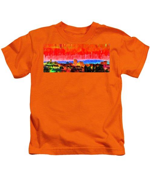 Fresno Skyline 101 - Pa Kids T-Shirt