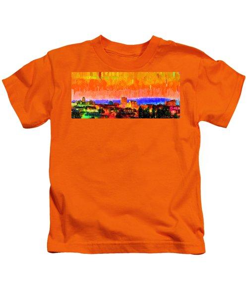 Fresno Skyline 105 - Pa Kids T-Shirt