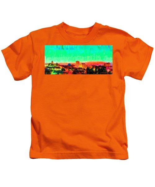 Fresno Skyline 108 - Da Kids T-Shirt