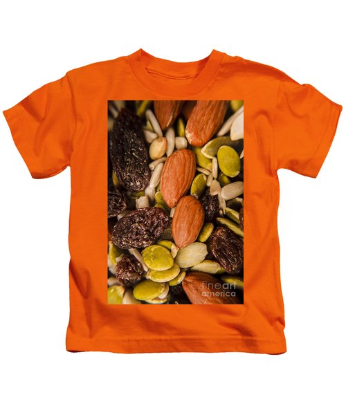 Fruit Nut And Seed Snack Mix Kids T-Shirt