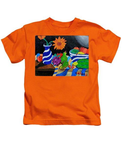Fruitful Still Life Kids T-Shirt