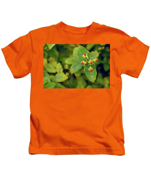 Fall Berry Kids T-Shirt