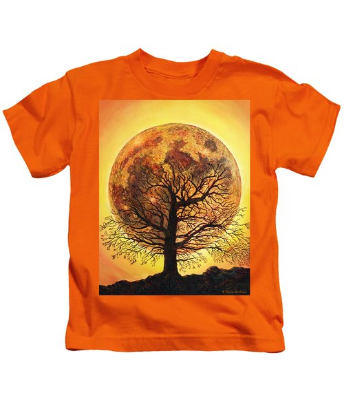 Full Moonrise. Kids T-Shirt