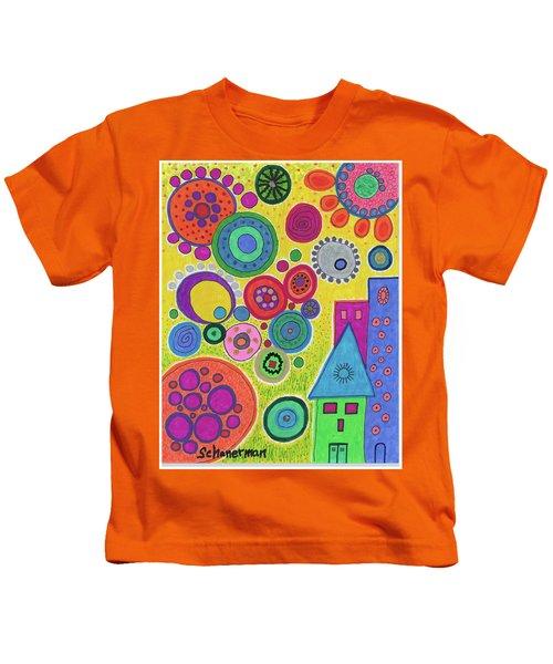Funky Universe Kids T-Shirt