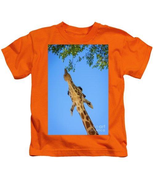 Giraffe Lunch Kids T-Shirt