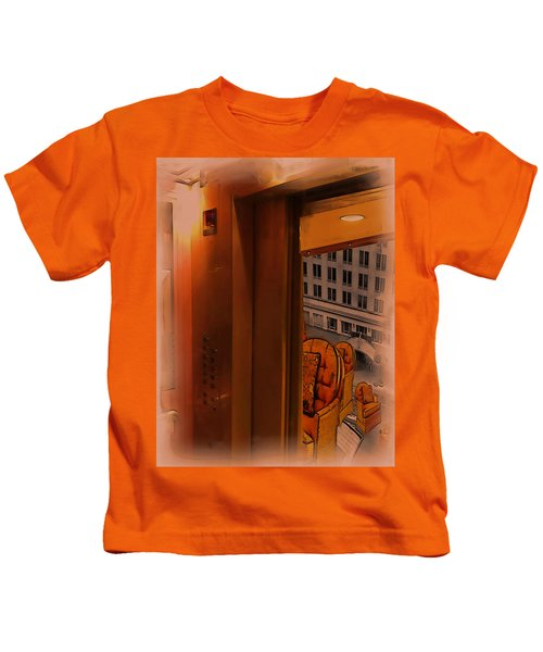 Going Down? Kids T-Shirt