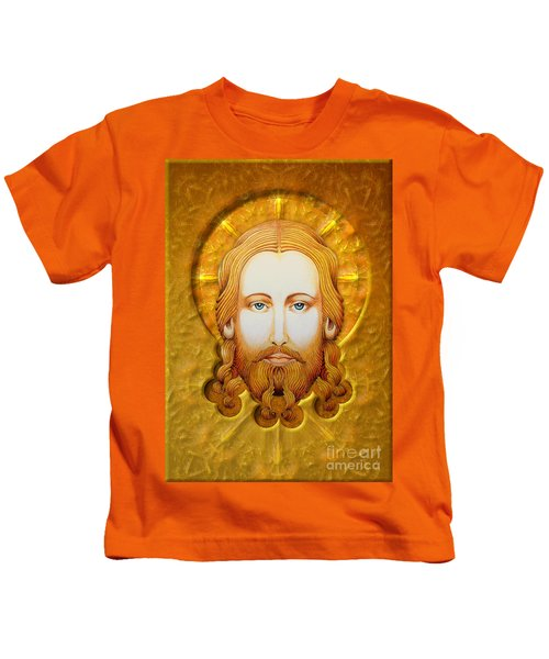 Gold Plate Icon Kids T-Shirt