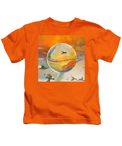 Golden Age Of Flight Kids T-Shirt