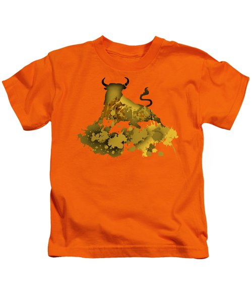 Golden Bull Kids T-Shirt
