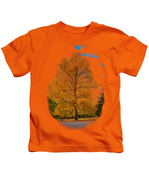 Golden Fall Colors 2 Kids T-Shirt