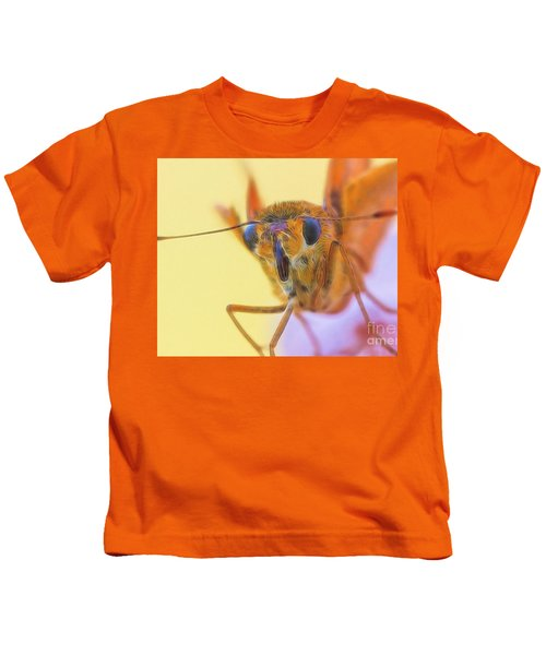 Golden Moth Kids T-Shirt