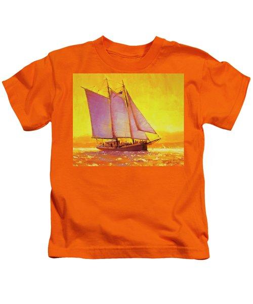 Golden Sea Kids T-Shirt