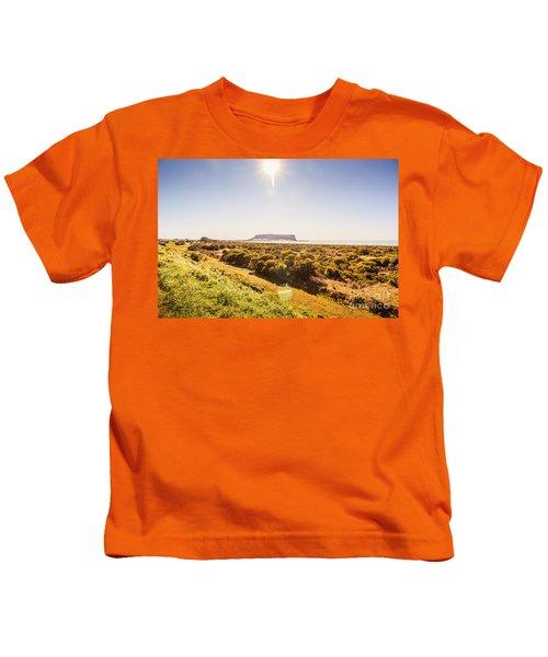Golden Stanley Landscape Kids T-Shirt
