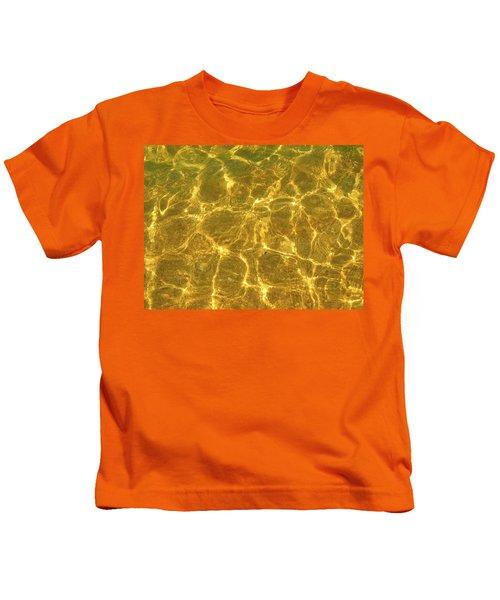 Golden Wave Kids T-Shirt
