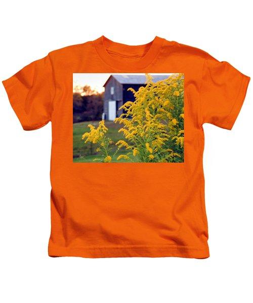 Goldenrod Kids T-Shirt