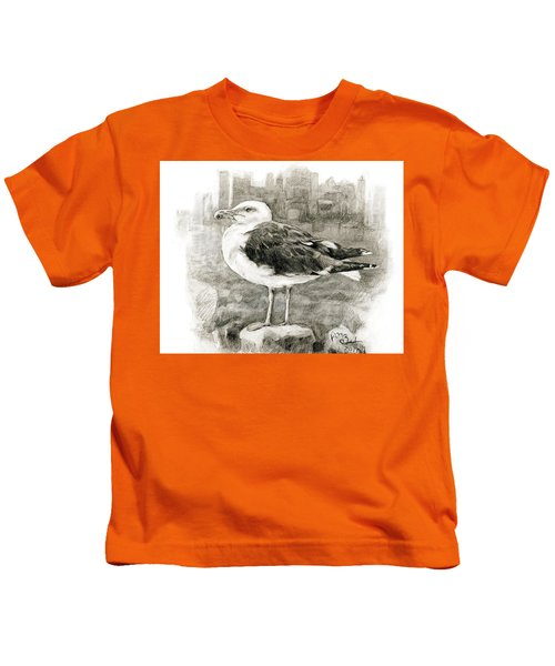 Great Black-backed Gull Kids T-Shirt