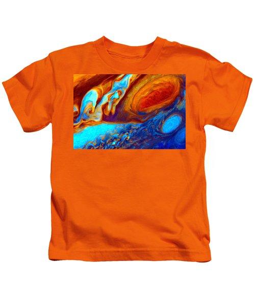 Jovian Turbulence Kids T-Shirt