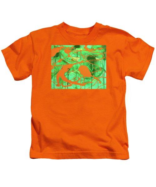Green Spill Kids T-Shirt