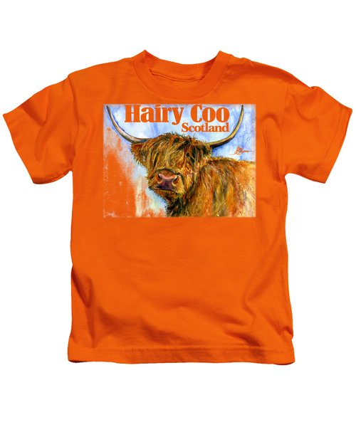 Hairy Coo Shirt Kids T-Shirt