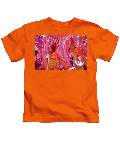Hands Up-2 Kids T-Shirt