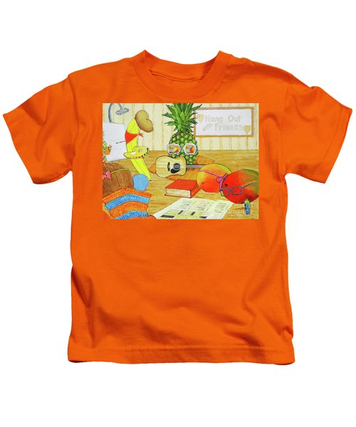 Hang Out With Friends Kids T-Shirt