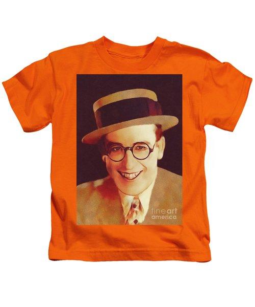 Harold Lloyd, Hollywood Legend Kids T-Shirt