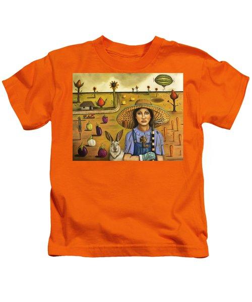 Harvey And The Eccentric Farmer Kids T-Shirt