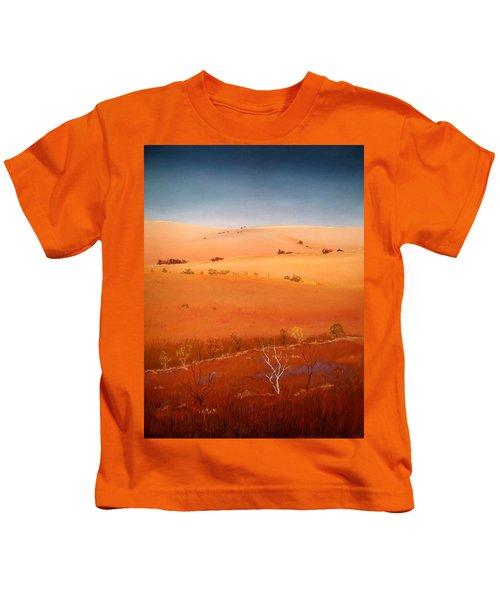 High Plains Hills Kids T-Shirt